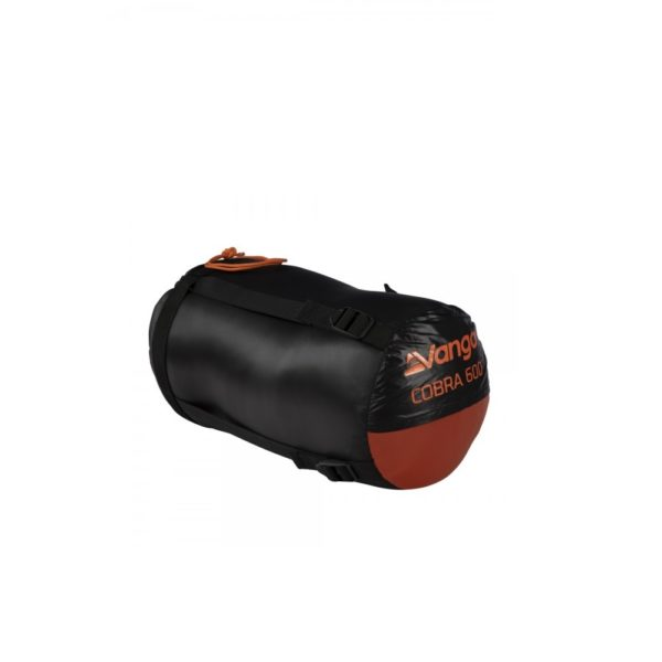 Vango Cobra 600 Down Filled Sleeping Bag (Anthracite)