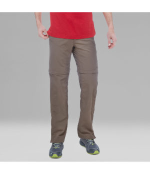 The North Face Men's Horizon Convertible Trousers (Weimaraner Brown)