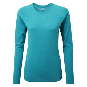Rab Women's Force LS Base Layer Tee (Seaglass)