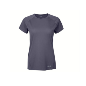 Rab Women's Force Short Sleeve Base Layer Tee (Steel)