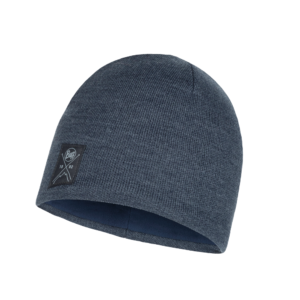 Buff Solid Navy [Knitted Hat]