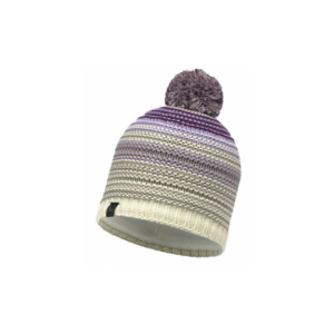 Buff Knitted Polar Hat Neper Violet