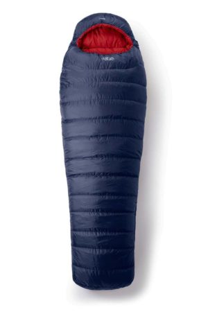 Rab Ascent 500 Left Zip Sleeping Bag (Ink)