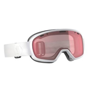 The Scott Muse goggle offers all of the great features you come to expect in a Scott goggle in a package specifically catered to a smaller face fit. The Muse goggle features a Cylindrical TruView lens and single layer face foam, offering skiers with smaller faces a high performing goggle at a friendly price.FitSmall to mediumTechnologiesSingle-layer face foamNo-slip silicone strapFrame TechnologiesSingle-layer face foamNo-slip silicone strapLens TechnologiesCylindrical Scott TruView double lensNoFog™ Anti-Fog lens treatmentACS Air Control SystemFeaturesAmplifier: enhances contrast & clarity100 % UV ProtectionNoFog™ Anti-fog treatmentSingle layer face foamGoggle bagNo-Slip silicone strapRRP £35, Summits Price £29.99