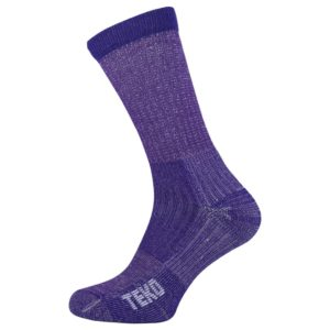 Teko Women's Merino Hiking Socks Light Cushion (Plum)