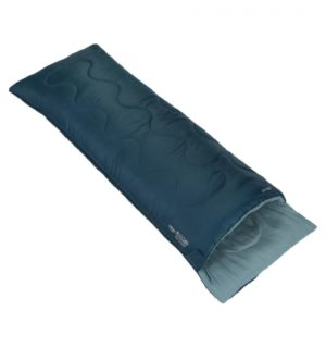 Vango Ember Superwarm Single Sleeping Bag - Moroccan Blue (2020)