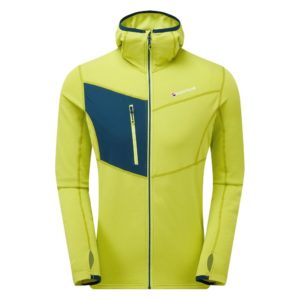 Montane Men's Alpine Raid Hoodie (Citrus Green)