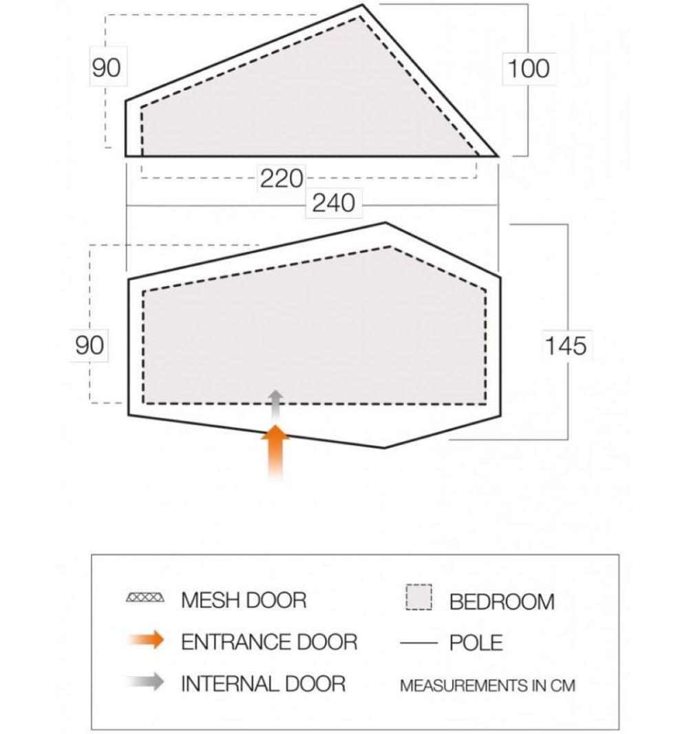Force Ten (F10) Project Hydrogen Ultralight Tent