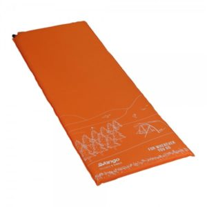 Vango Dreamer 5cm Single Self-Inflating Mat - Citrus Orange