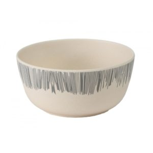 Vango Bamboo 14cm Bowl - Grey Stripe