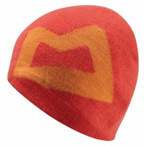 Mountain Equipment Branded Knitted Beanie (Cardinal/Russet)
