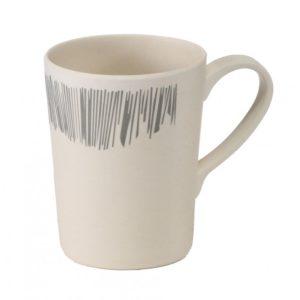 Vango Bamboo 350ml Mug - Grey Stripe