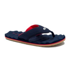Animal Men's Jekyll Ripple Flip Flops (Indigo Blue)