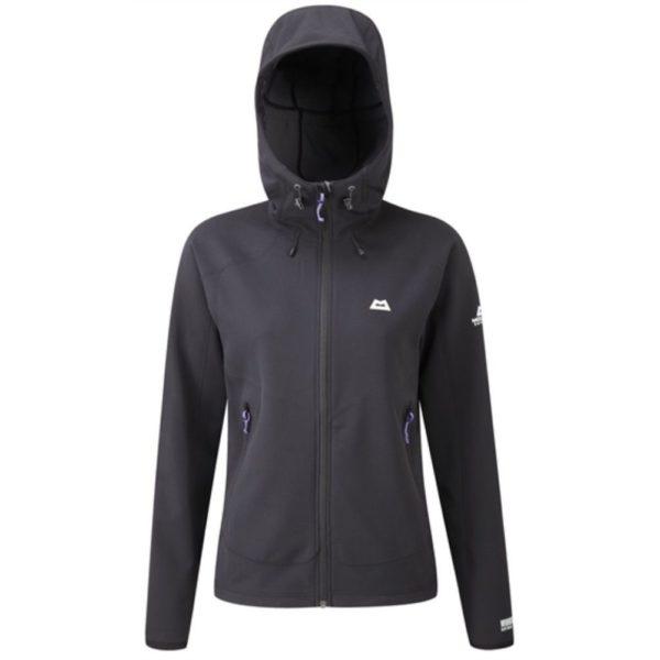 Mountain Equipment Women's Trojan Hooded Jacket (Black)