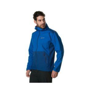Berghaus Men's Deluge Pro Shell Jacket (Blue/Dark Blue)