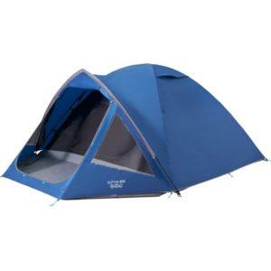 Vango Alpha 400 Tent - 4 Person Tent - Moroccan Blue (2020)