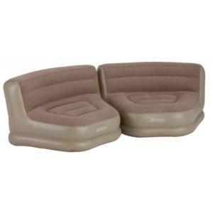 Vango Inflatable Relaxer Chair Set (Pair) - Nutmeg