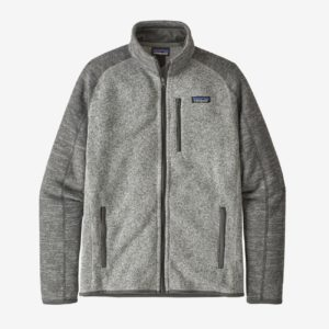 Patagonia Men's Better Sweater Fleece Jacket (Nickel/Forge Grey)