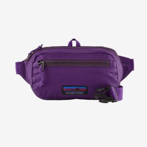 Patagonia Ultralight Black Hole® Mini Hip Pack 1L (Purple)