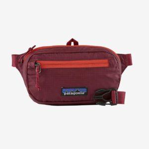 Patagonia Ultralight Black Hole® Mini Hip Pack 1L (Roamer Red)