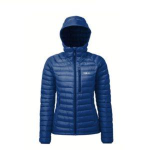 Rab Women's Microlight Alpine Jacket (Blueprint/ Celestial)