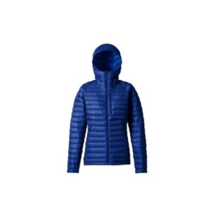 Rab Women's Microlight Alpine Long Jacket (Blueprint/ Celestial)