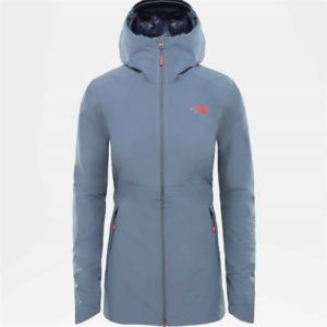The North Face Women's Hikesteller Park WP Jacket (Grey)