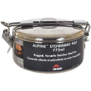 MSR Alpine Stowaway Stainless Steel Pot - 775ml