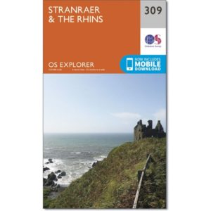 Ordnance Survey Explorer Map 309 - Stranraer&The Rhins