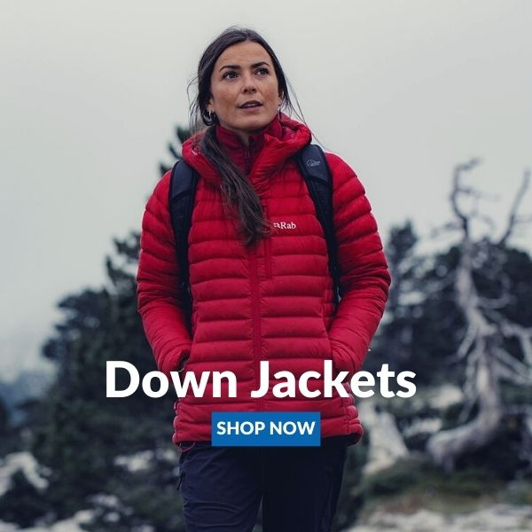 rab down jacket