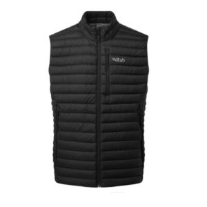 Rab Men's Microlight Recycled Down Vest (Black)
