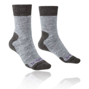 Bridgedale Women's Explorer Heavyweight Merino Comfort Socks - Grey