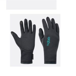 Rab Women's Power Stretch Contact Gloves (Beluga)