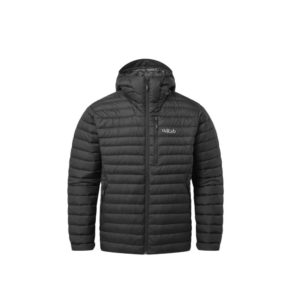 Rab Men's Microlight Alpine Recycled Down Jacket (Black)