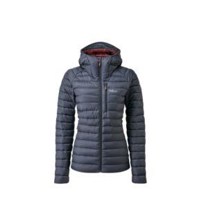 Rab Women's Microlight Alpine Recycled Down Jacket (Steel)