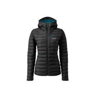 Rab Women's Microlight Alpine Recycled Down Jacket (Black)