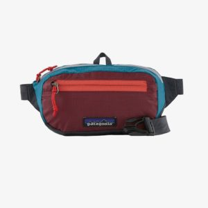 Patagonia Ultralight Black Hole® Mini Hip Pack 1L (Patchework/Roamer Red)