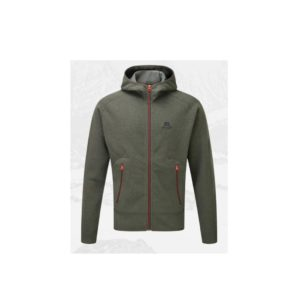 Mountain Equipment Men's Kore Hooded Fleece Jacket (Graphite)