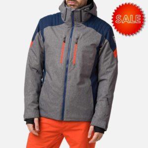Rossignol Men's Heather Ski Jacket - Size Medium - Grey