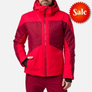 Rossignol Men's Stade Ski Jacket (Red) - Size Medium