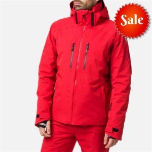 Rossignol Men's Aile Ski Jacket - Medium - Red