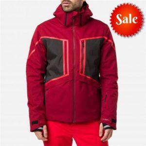 Rossignol Men's Accroche Ski Jacket - Medium - Red