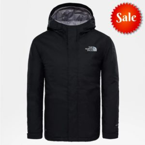 The North Face Youth Snow Quest Jacket Size SMALL Only (TNF Black)