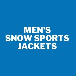 Mens snowsports jacket
