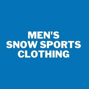 men's snow sports clothing