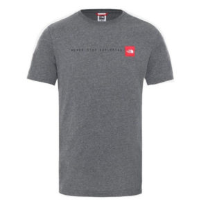 The North Face Men's NSE SS Tee – Size Small Only (Medium Grey Heather)