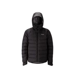 Rab Men's Valiance Waterproof Down Jacket (Black)