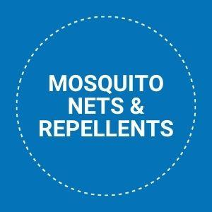 mosquito nets & repellents