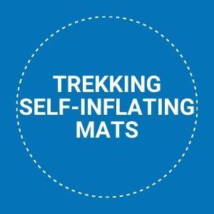 trekking self-inflating mats