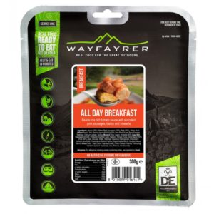 Wayfayrer All Day Breakfast - Outdoor Camping Ready to Eat Meal Pouch